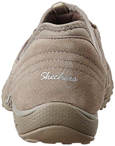 Skechers - Breathe-easybig Bucks, Scarpe da ginnastica Donna Beige (tpe)