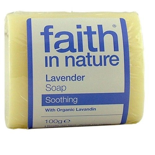 Faith In Nature Organic Lavender Soap 100g Pack of 3