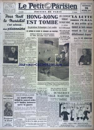 PETIT PARISIEN EDITION DE PARIS (LE) [No 23629] du 26/12/1941