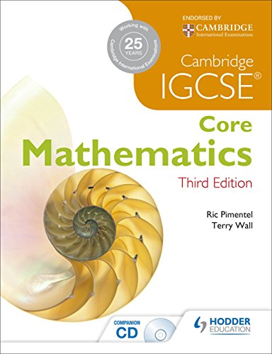 IGCSE Core Mathematics 3ed + CD