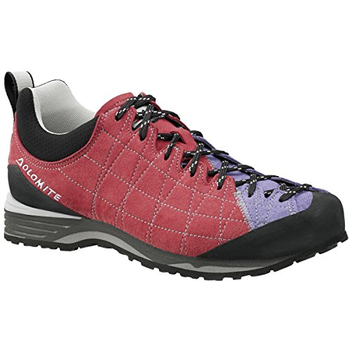 Dolomite, Chaussures montantes pour Homme Begonia Red/Crocus Violet