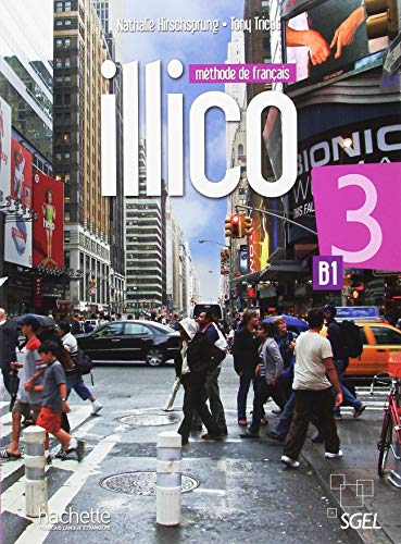 Illico 3 Livre de l'Eleve + DVD-ROM