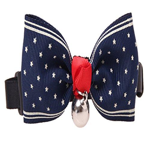 HENGSONG Cane Gatto Pet Arco Cravatta Papillon