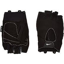 Nike Fundamental–Guantes para hombre, 9092–037, hombre, color negro/blanco, tamaño medium