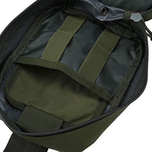 Outdoor Erste-Hilfe-Tasche Notfalltasche Medzinische Hilfe für Outdoor Aktivitäten wie Camping Radfahren Klettern Wandern ( Farbe : Grün ) - 3