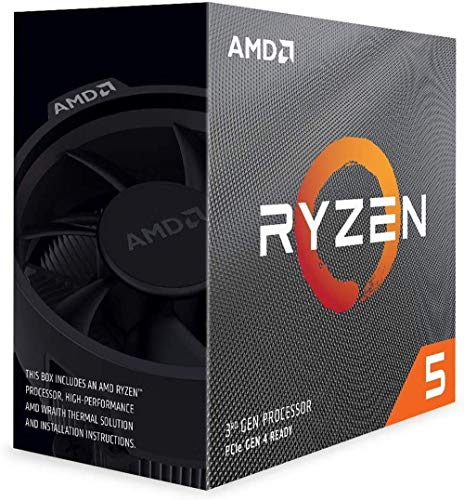 AMD RYZEN 5 3500 3RD Generation Desktop Processor (6 CORE, UP to 4.1 GHZ, AM4 Socket, 19MB Cache)
