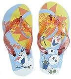 Disney Frozen Badelatschen Zehentreter Strand Schuhe Die Eiskönigin (27/28)