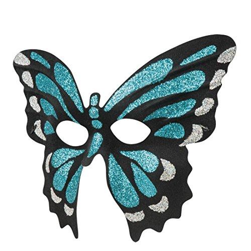 Halloweenia - Damen Venezianische Maske Schmetterling, (Schmetterling Twilight Kostüme)