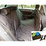 Dog Car Seat Cover Set, Waterproof, Non-Slip Hammock with Storage Pocket, 2 x Bowls, 2 x Pet Seat Belts, Adjustable… 7