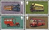 Prophila Collection GB - Guernsey 191-194 (kompl.Ausg.) 1979 Öffentliche Verkehrsmittel (Briefmarken für Sammler) Eisenbahn