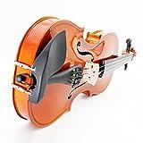Andoer 4/4 Violon Fiddle Tilleul Cordes en Acier Arbor Bow Instrument à Cordes pour les Amoureux de la Musique Débutants