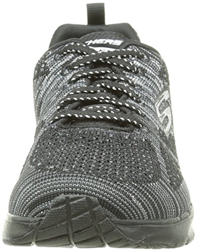 Skechers (SKEES) Skech- Air Infinity-stand Out, baskets sportives femme noir (BKSL)