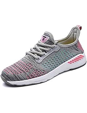 xiduoduo Unisex Bequem Gym Fitness Atmungsaktives Mesh Turnschuhe Freizeitschuhe Ultra-Light Sportschuhe Laufschuhe...