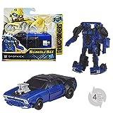 TRANSFORMERS Saga - Robot propulsion Dropckick voiture Power series 11cm - Jouet transformable 2 en 1