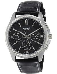 CASIO MTP-1375L-1 - Reloj con movimiento cuarzo, para hombre, color negro