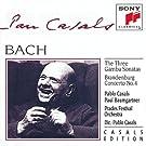 Bach: The Three Gamba Sonatas, Brandenburg Concerto No. 4