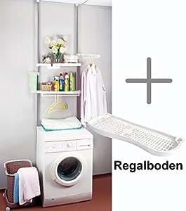 garderobensystem tag re t lescopique pour machine laver hauteur r glable de 160 290 cm. Black Bedroom Furniture Sets. Home Design Ideas