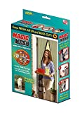 #7: Marji&Anuvrutti Magic Mesh Hands Free Magnetic Screen Door: Doors Premium Quality Tough & Durable Qty.(1pc), Color- Beige Size 210 x 100 cm