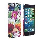 Offizielle TED BAKER® SS16 FLORAL SWIRL iPhone 6/6S Plus Schutzschale - Designer Marken Hülle / Case / Cover / Back-Shell / Hartschale mit Blumen-Print und Soft-Feel Material für das Apple iPhone 6 Plus und iPhone 6S Plus (5.5