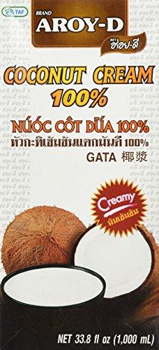 Preisvergleich Produktbild AROY-D Kokosnusscreme 1000ml Kokoscreme Cocoscreme Coconut Cream