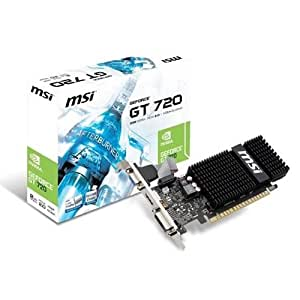 MSI N720-1GD5HLP Carte graphique Nvidia GeForce GT 720 797 MHz 1024 Mo PCI-Express