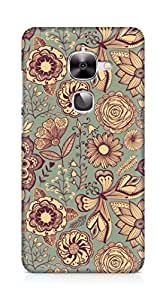 Amez designer printed 3d premium high quality back case cover forLeEco Letv Le 2 (vintage pattern abstract )