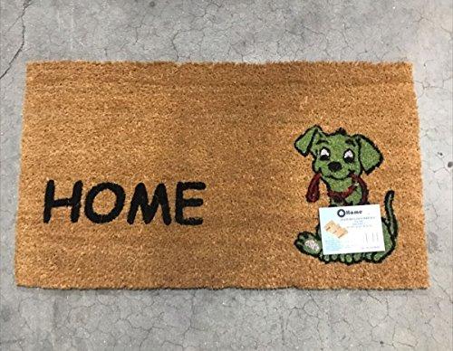 Felpudo hogar antideslizante 40x70 diseño perro
