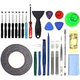 27 en 1 Kit de herramientas movil de reparación destornillador plano cruz para iphone 6/6S/Plus/6S/5/5S/5C/4/iPad/iPodiPad Samsung HTC Sony LG y pequeños electrodomésticos