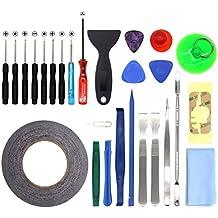 27 en 1 Kit de herramientas movil de reparación destornillador plano cruz para iphone 6/