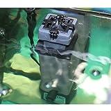 Aquarium Oberflächenabsauger–Tropical Marine Reef Fish Tank Wasser interner Filter < 250L–Opt. Ersatz Schaumstoff - 4