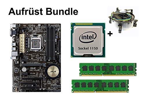 Aufrüst Bundle - ASUS H97-PLUS + Intel i5-4590 + 4GB RAM #94831