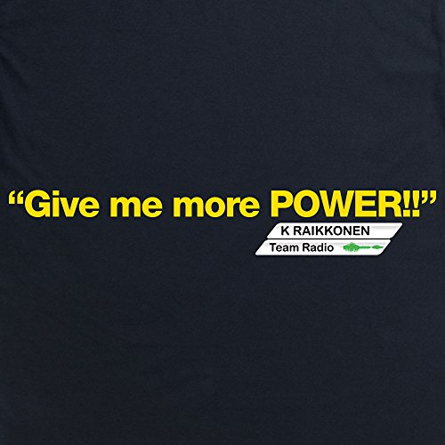Give Me More Power T-Shirt, Herren Schwarz