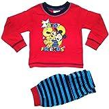 Baby Pyjama pour enfant Motif Disney Mickey Mous'Ensemble pyjama Taille 6-24 mois