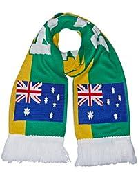 Supportershop Echarpe Australie Jaune 150 x 20 cm