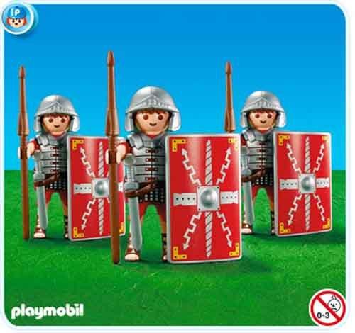 Playmobil 7878 3 Legionarios