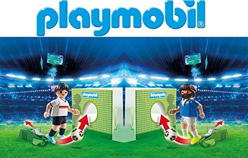 Preisvergleich Produktbild Playmobil Fußballspieler Duell - Deutschland vs. Italien - 6893 6895