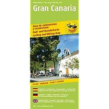 Gran Canaria: Rad- und Wanderkarte dreisprachig, wetterfest, reißfest, abwischbar, GPS-genau. 1:50000 (Rad- und Wanderkarte / RuWK)