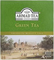 Ahmad Tea London Green, 100 Tea Bags
