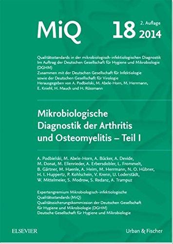 MIQ 18: Mikrobiologische Diagnostik der Arthritis und Osteomyelitis