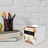 Metronic 477043 Radio Réveil avec Veilleuse pour Enfant CIRCUS - Rouge et Blanc