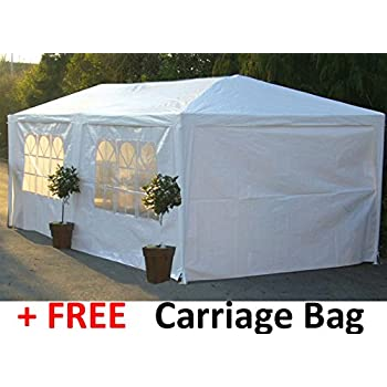 Party Tents Two Sizes Giant 9m x 3m or Large 6m x 3m Party Tent Marquee. Inc. FREE Carriage Bag Spare Parts Stocked for this Tent. (Large - 6m x 3m)  sc 1 st  Amazon UK & Quictent 6.8x5 Meter Beige Octangle Festival Gazebo Party Tent ...