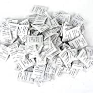 Home Clearance Sale 70 Packs Non-Toxic Silica Gel Desiccant Moisture Absorber Dehumidifier, 1g