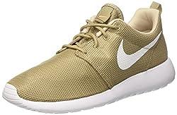 Nike Men's Roshe One Running Shoes, Beige (Khakiwhiteoatmealwhite), 8 Uk