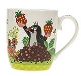 Kindertasse Der kleine Maulwurf Erdbeere: Geschenktasse aus Porzellan