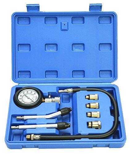 FreeTec Tester Di Compressione Per Motore a Benzina, 0-20 Bar o 0-300 Ps