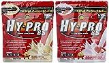 All stars Hy-Pro 85 Beutel 2er Mix Pack (2 x 500 g) Vanille/Erdbeere, 1er Pack (1 x 1 kg)
