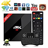 NBKMC [2018 Dernière Version] H96 Pro + Plus 【3G+32G】Amlogic S912 Octa-core Android 7.1 BOX 4K WiFi H.265 Android TV Box Smart TV Box H96 Android tv box 64 Bit Bluetooth 4.1 Mini Clavier