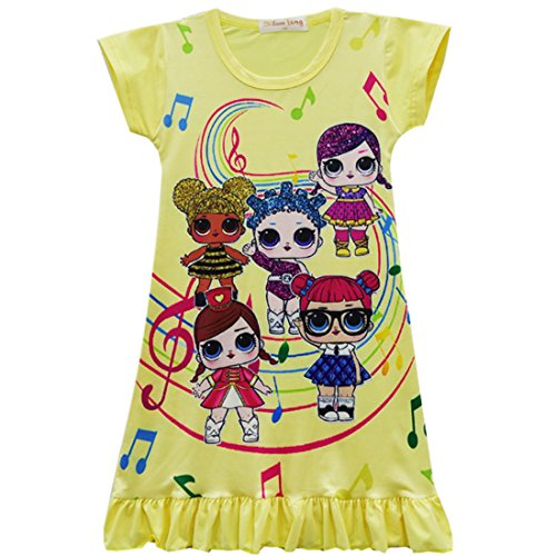 ZFFSD Girls Summer Dress 2018 Princess Flower Dresses