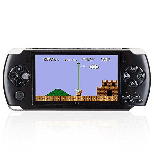 Console de jeu portable de 8 Go, 4,3 pouces avec 1000 jeux classiques GBA, vidéo de soutien et musique, caméra 3M intég