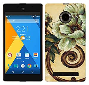 TrilMil Printed Designer Mobile Case Back Cover For Micromax YU YUPHORIA